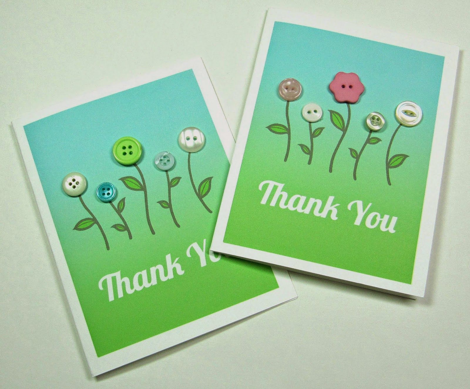 Make Your Own Thank You Cards (Free Pdf ) From