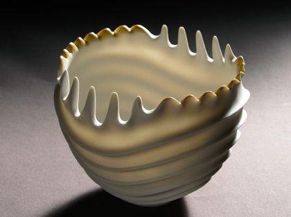 Cerâmica por Rolf Bartz em Studiopottery.co.uk - Marine estudo de 2006