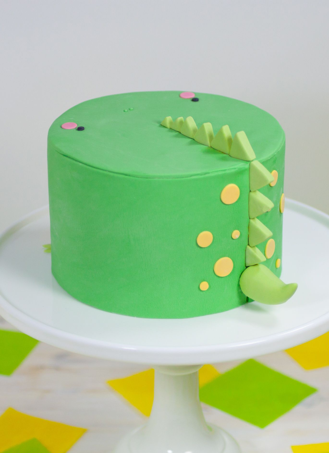 Dinosaur Cake by Whipped Bakeshop in Philadelphia birthday ideas