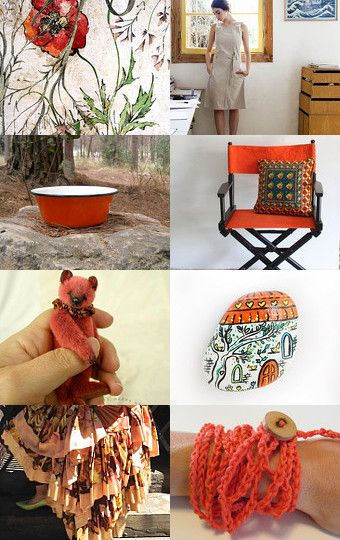 Tangerine by Leslee Lukosh on Etsy--Pinned with TreasuryPin.com