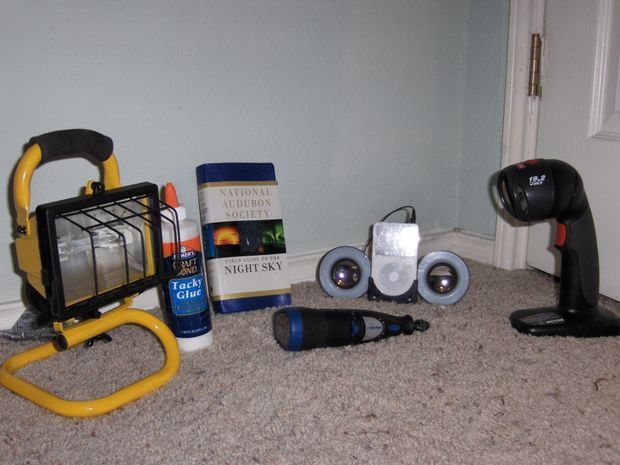 Picture of Required parts & tools