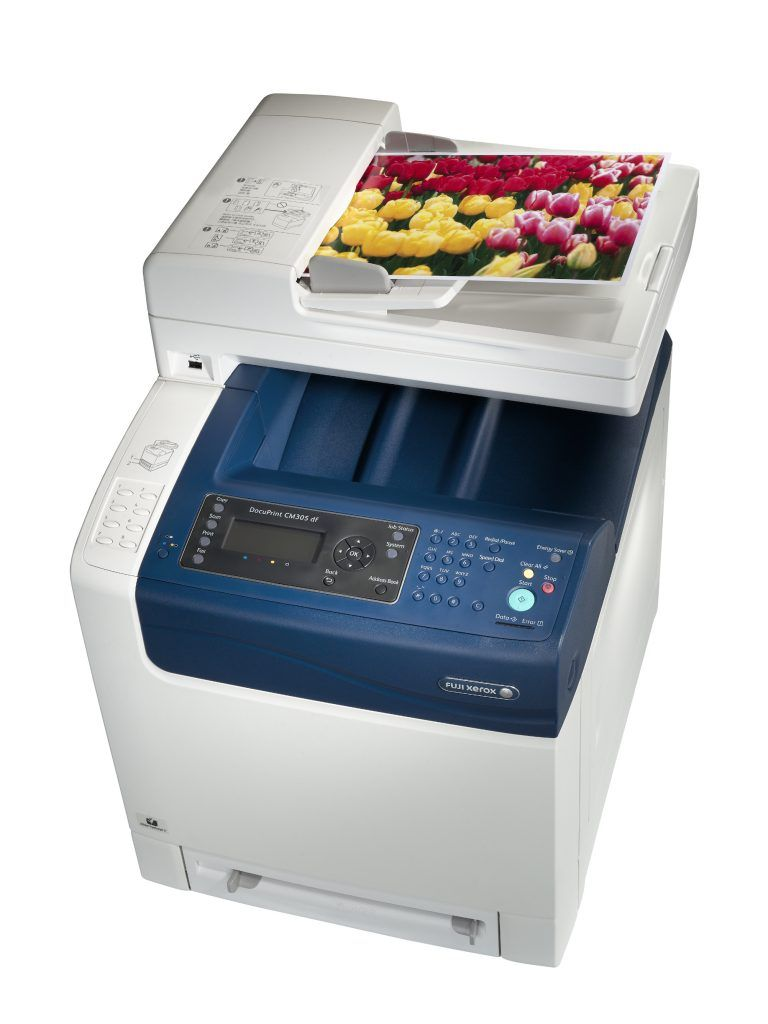 Printer Fuji Xerox Docuprint Dpcm305df A4 Colour Multifunction