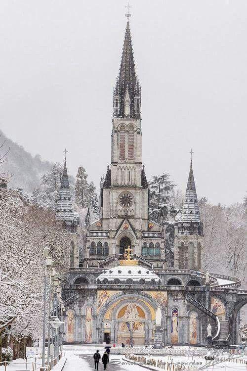 France Travel Inspiration - Lourdes, France