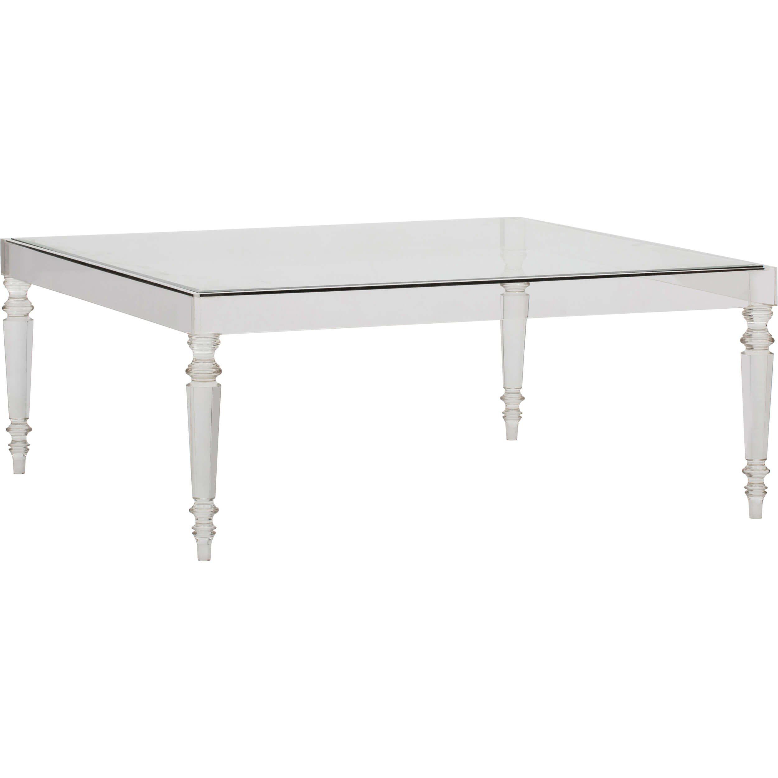 Devaro Acrylic Coffee Table Accent Tables Furniture