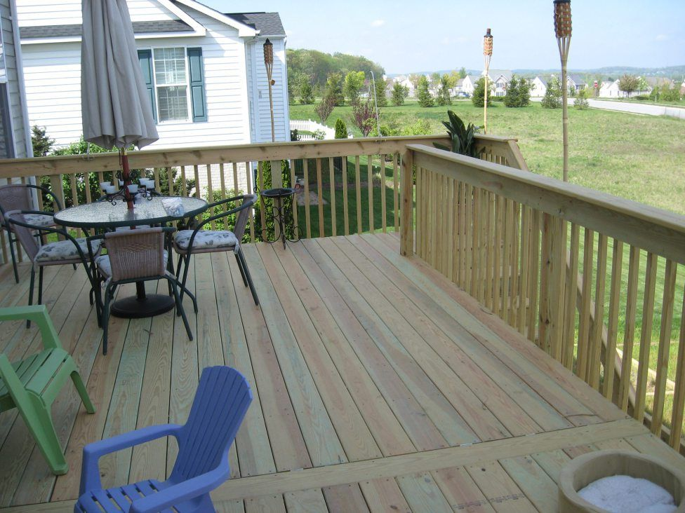 Best Pressure Treated Wood Deck In Seven Valleys Pa With 400 x 300