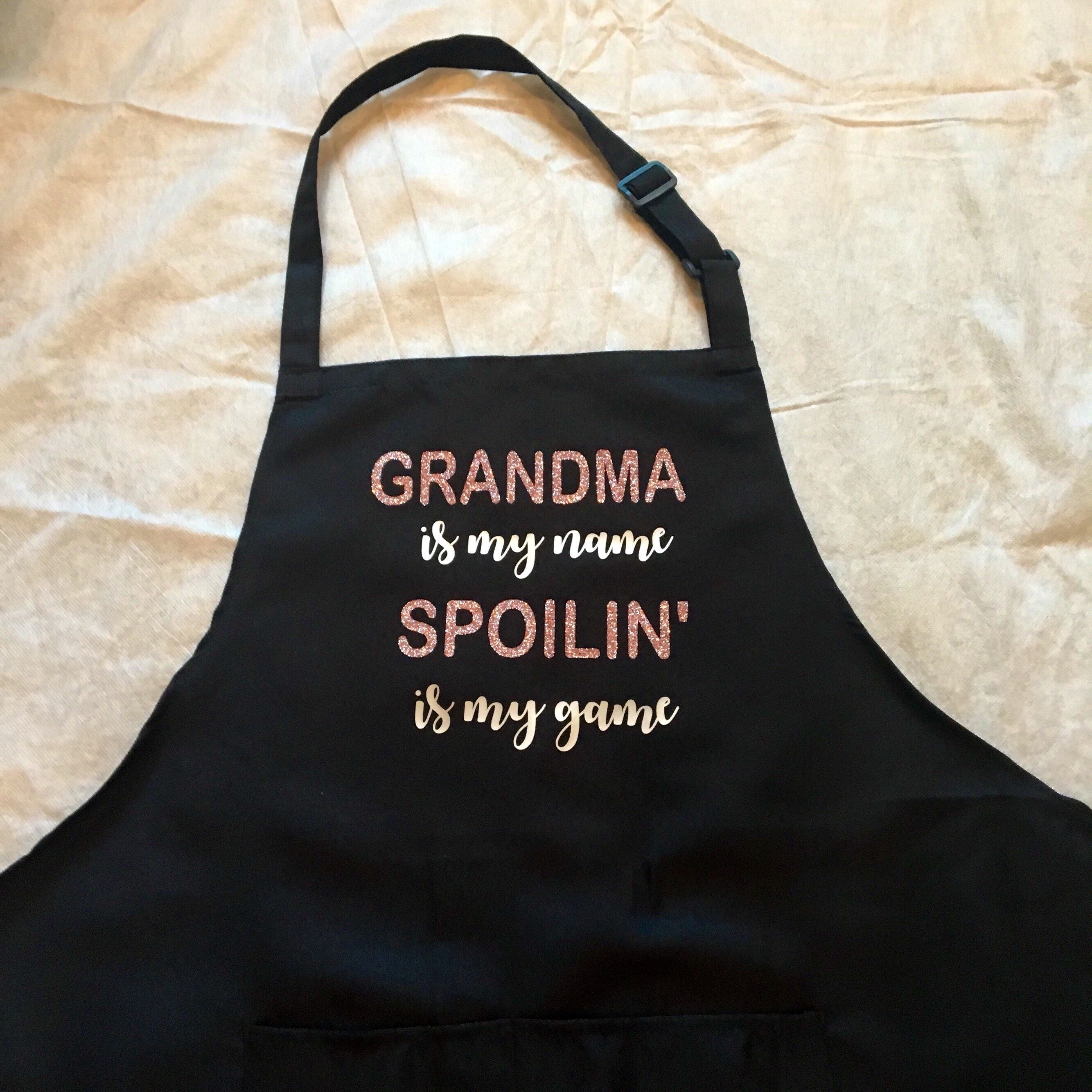 Excited To Share This Item From My Etsy Shop Grandmas Customized Apron Retired Grandma Thanksgiving Gift For Chef Housewarming Birthday