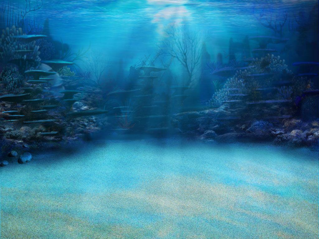 Under Water Background 183 Underwater Towers Background