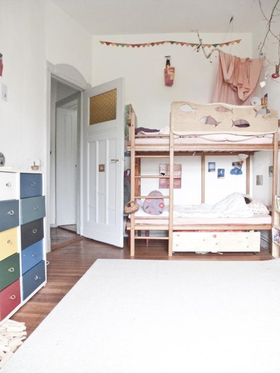 Dieses schöne, verspielte Schlafzimmer erzählt seine eigene - schöne farben für schlafzimmer