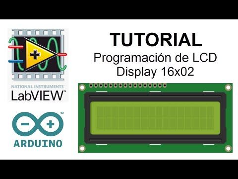 Tutorial LabVIEW y Arduino: LCD Display 16x2 - YouTube