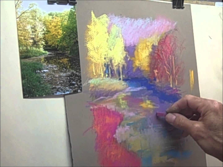 Pastel Painting Impressionist Style Soft Pastel Art Pastel Painting Pastel Artwork