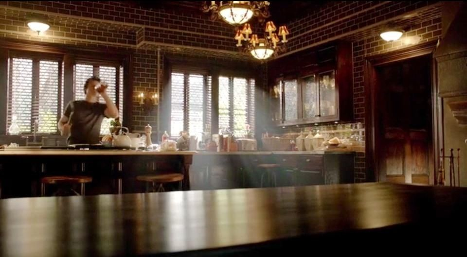 Gothic Living Room Furniture Made In The Usa Salvatore Boarding House Kitchen! Tvd 6x2 | I Want 2018 ...