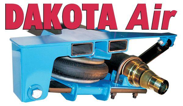 Dakota Air ride Trailer Suspension. Not a bag but a ...