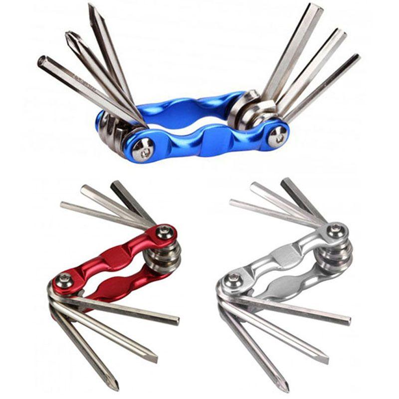 Bicycle Repair Tool Kit 16 in 1 Multifunction Bike Tools with Portable Bag TK24