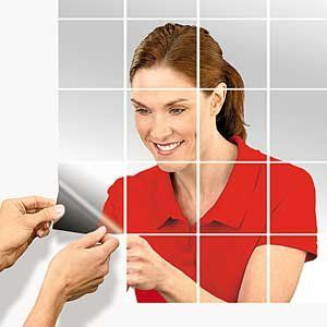 Self Adhesive Mirror Tiles By Ppr Direct Marketing 16 Customer