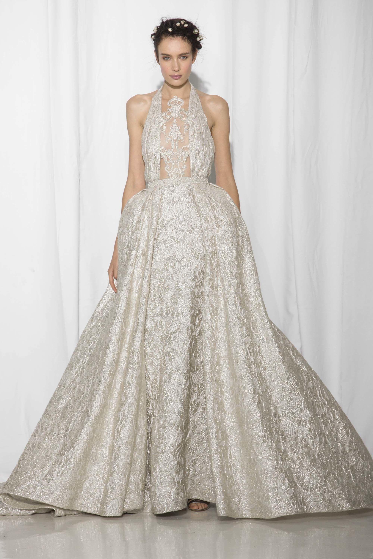 Reem Acra Bridal Fall 2017 Fashion Show | Pinterest