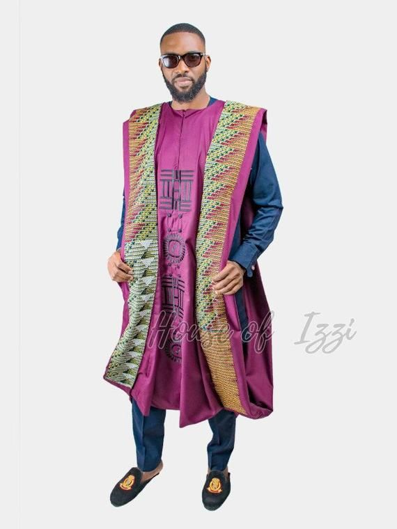 OBO Agbada,African print,Ankara,African fashion,Ankara fashion,African style,black friday sales,trendy,African men,African fashion #afrikanischerdruck