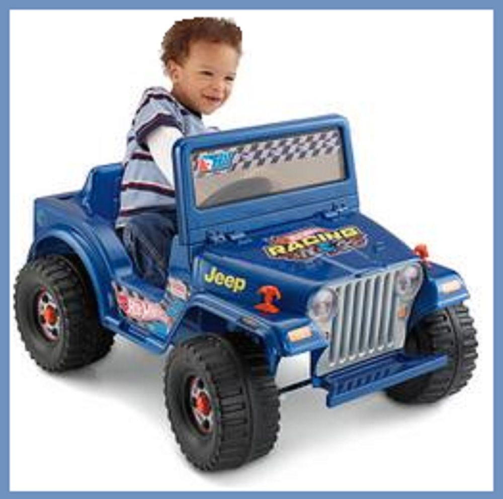 Kids Ride On Car Battery Ed Cars Electric Hot Wheels Jeep Fisher Price Toys