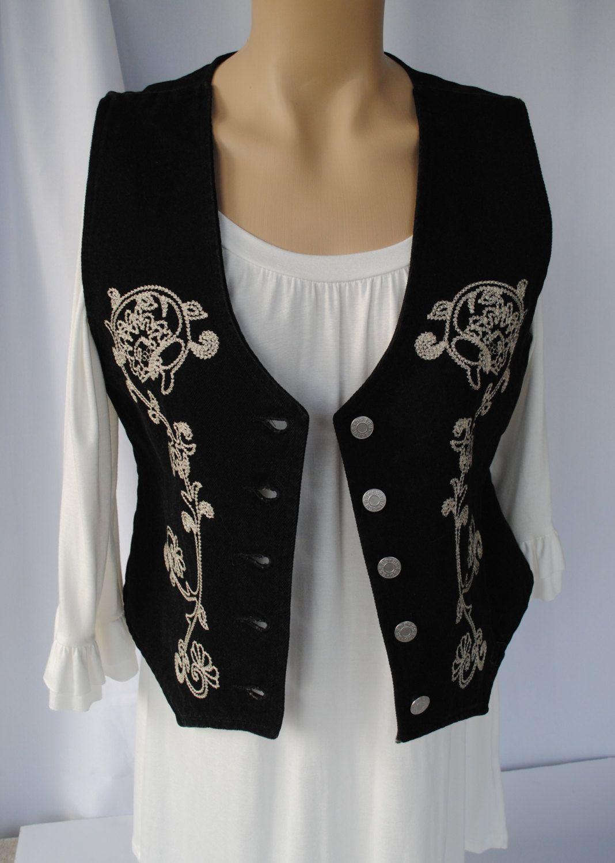 d41d6be49853 Women's Vintage 90's Guess Jeans Vest, Denim Vest, Boho Vest, Women's Vest, Western  Vest, Sleeveless Denim Jacket by VintageFocus on Etsy