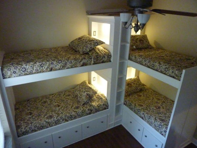 Bed 4 Bed Bunk Bed