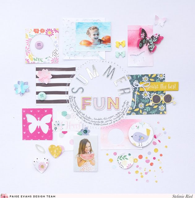 11 Simple Scrapbook Layouts That Are Perfect For Beginners Summer