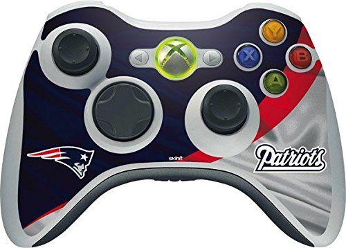 Nfl New England Patriots New England Patriots Skin For 1 Microsoft Xbox 360 Wireless Controller Latest Video Games Video Games Xbox Video Game Collection
