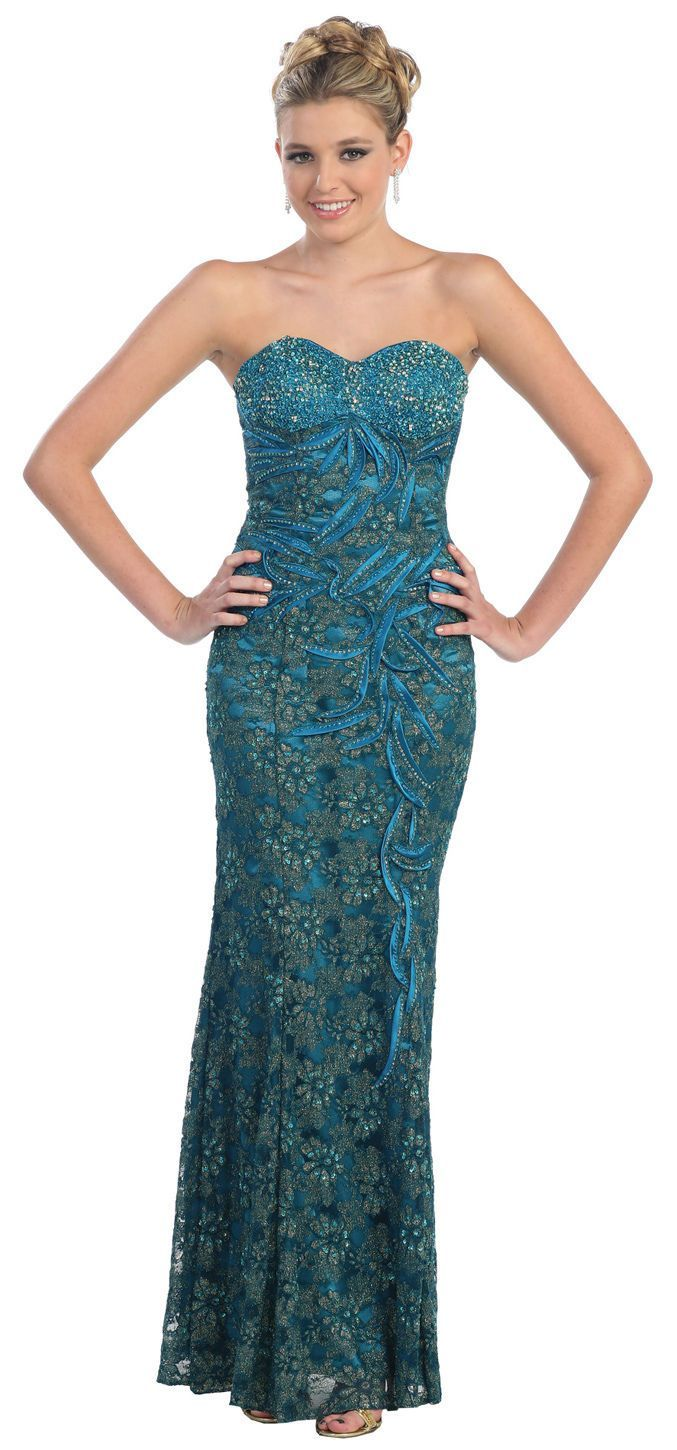 Vintage lace old hollywood fitted formal prom dress plus size