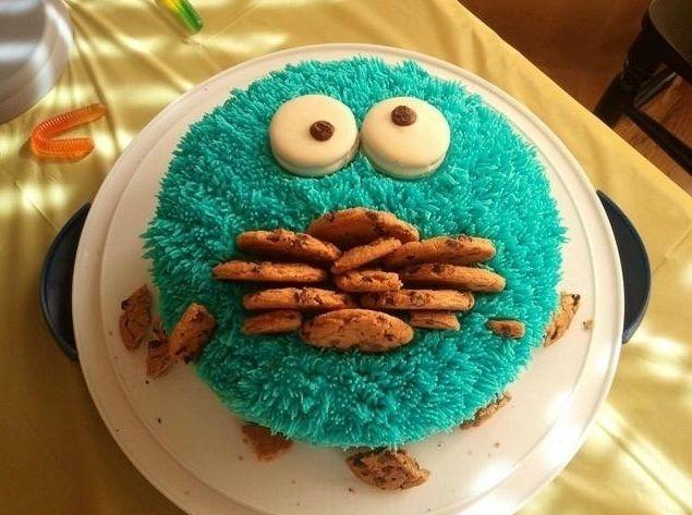 Homemade Cake Designs For Birthdays : Gallery For > Easy Birthday Cake Ideas Family ...