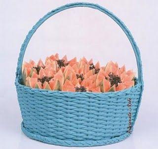 cestas de jornal                                                       …