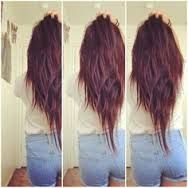 V Shaped Hair With Short Layers Google Search V Shape Hair With