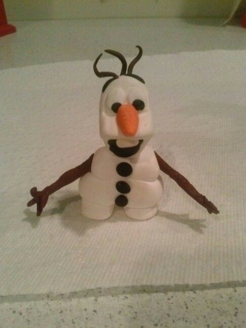 Olaf from Frozen  Made by: Jenmar (nspf)