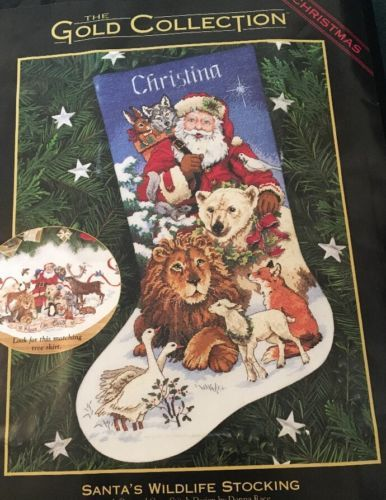 Dimensions Gold Collection Counted Cross Stitch Stocking Kit