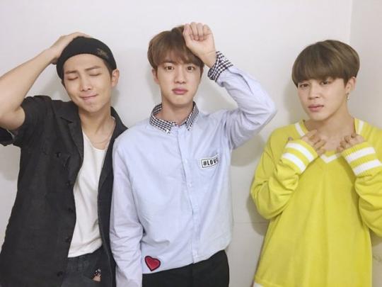 Namjoom, Seokjin and Jimin