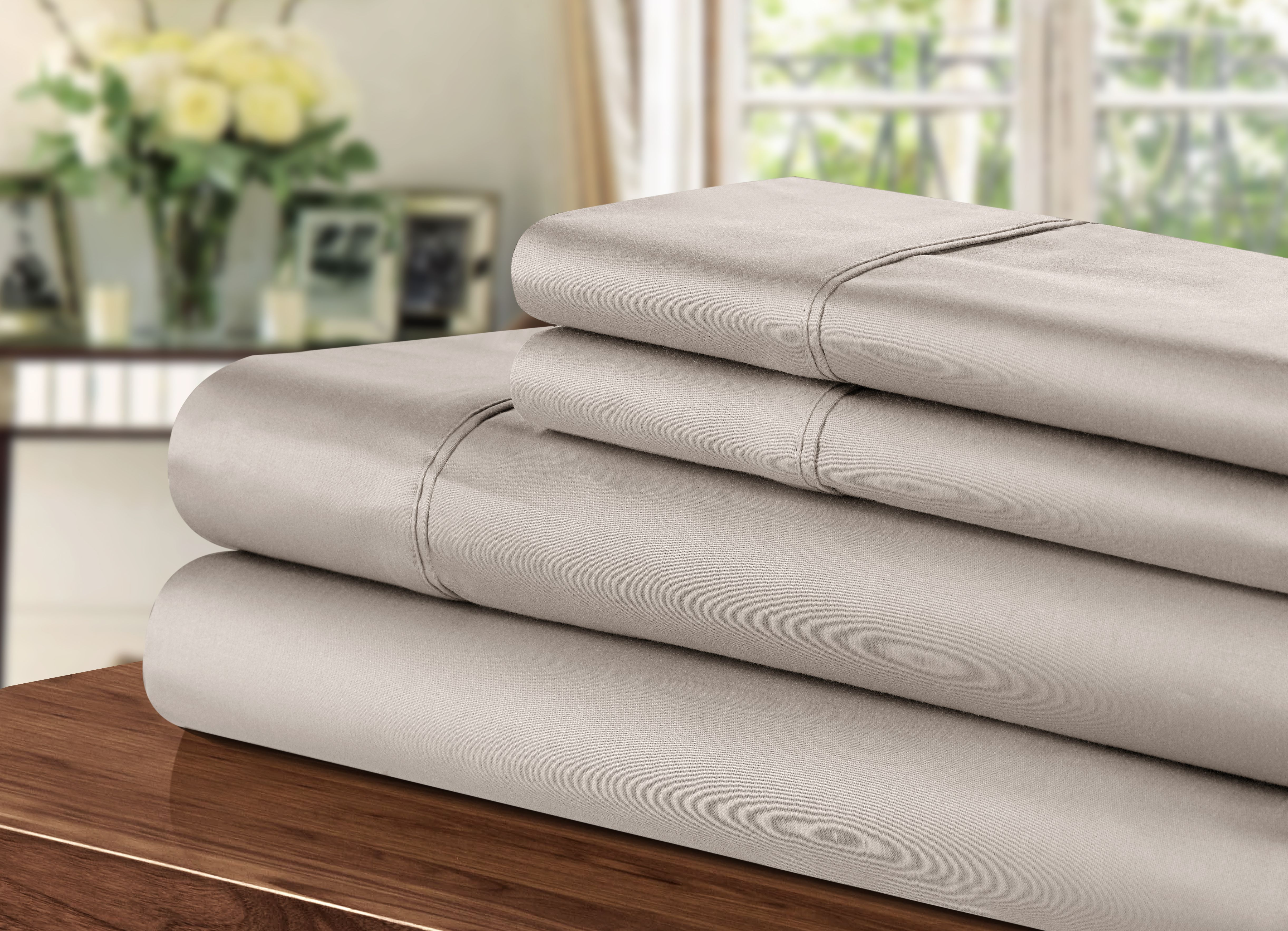 1000 Thread Count Sheets King Chic Hotel Collection 1000 Thread Count 100 Cotton