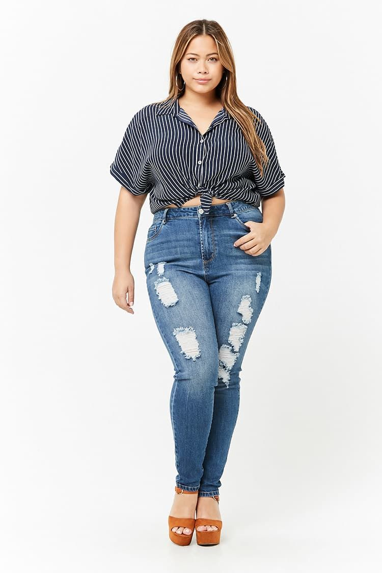 371cadc5e Product Name Plus Size Super High-Waist Jeans