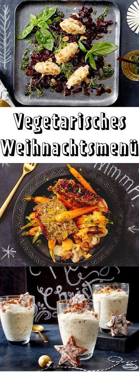 Vegetarisches Weihnachtsmenü | LECKER #dietmenu