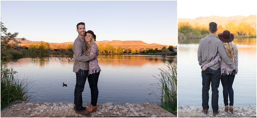 Romantic Fall Engagement Photo Ideas | Engagement session by Yelena Tsioma Photography | Boise | Idaho | Nature | Boise photographer