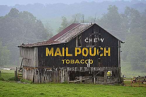 Image result for mail pouch barn painting