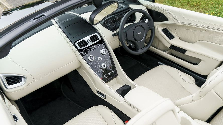 2014 Aston Martin Vanquish Volante Convertible 5 9l Dohc 48 Valve