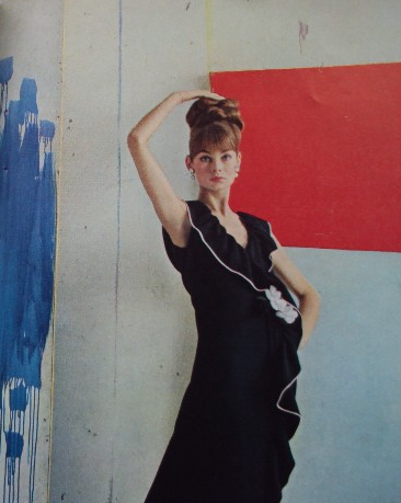 Jean Shrimpton photographed by Cecil Beaton