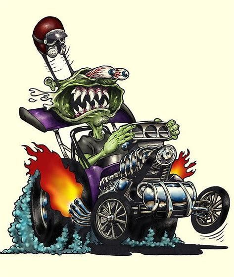 Image Result For Old School Hot Rod Art (With Images