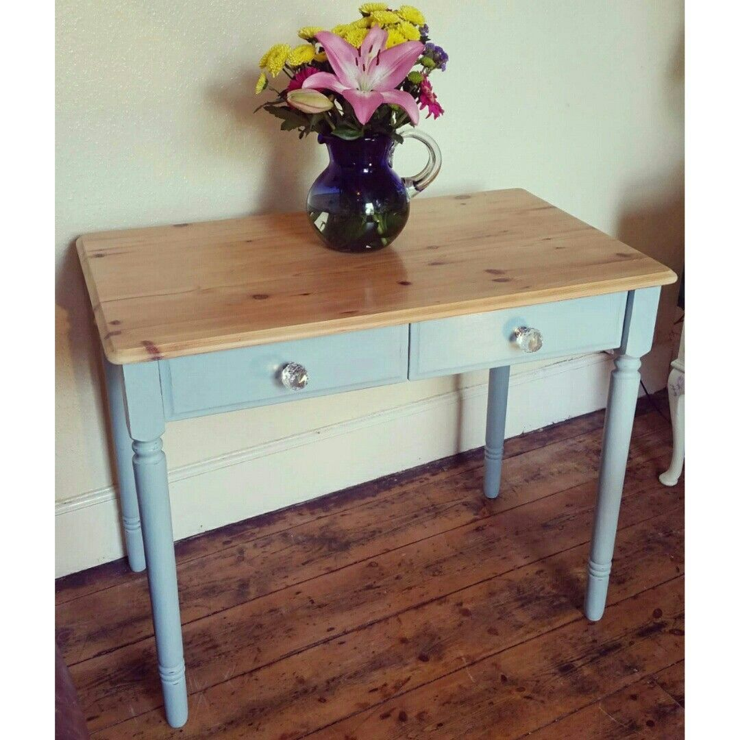 Upcycled pine console table with annie sloan upcycled upcycled pine console table with annie sloan geotapseo Gallery