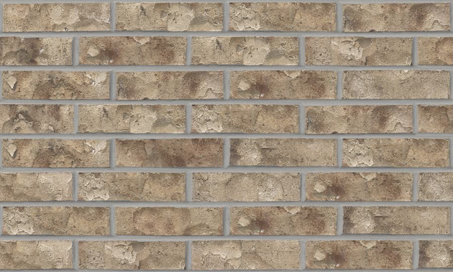 Acme brick cameron hills exterior brick color blanco for Brick selection for houses