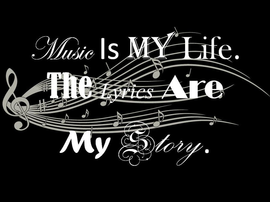 Music Is A Poem Music Is My Life Wallpaper Music Is My