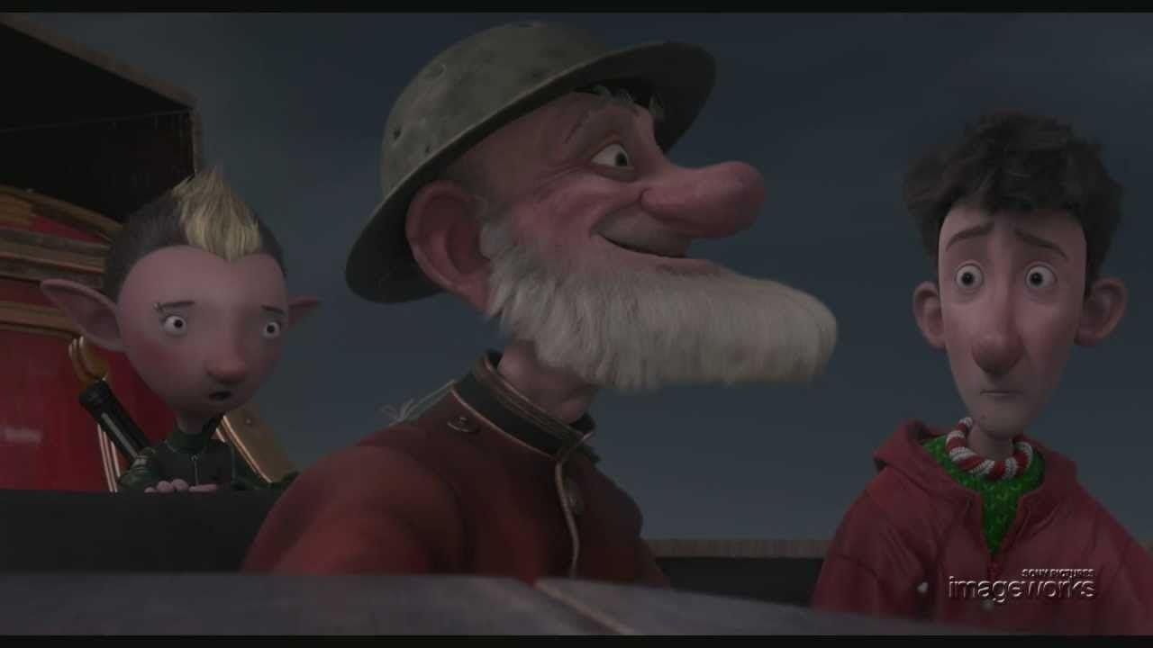 "Arthur Christmas- ""Grandsanta"" Shot Build, via YouTube."