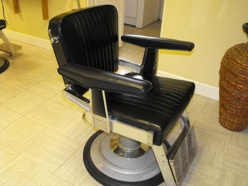 Vintage Belmont barber chair | | THE SALON TRADERTHE SALON TRADER - Vintage Belmont Barber Chair THE SALON TRADERTHE SALON TRADER