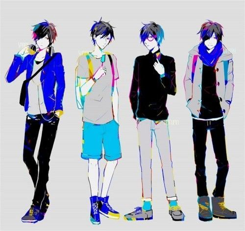 Image result for anime boy cool outfit | Anime | Pinterest | Anime