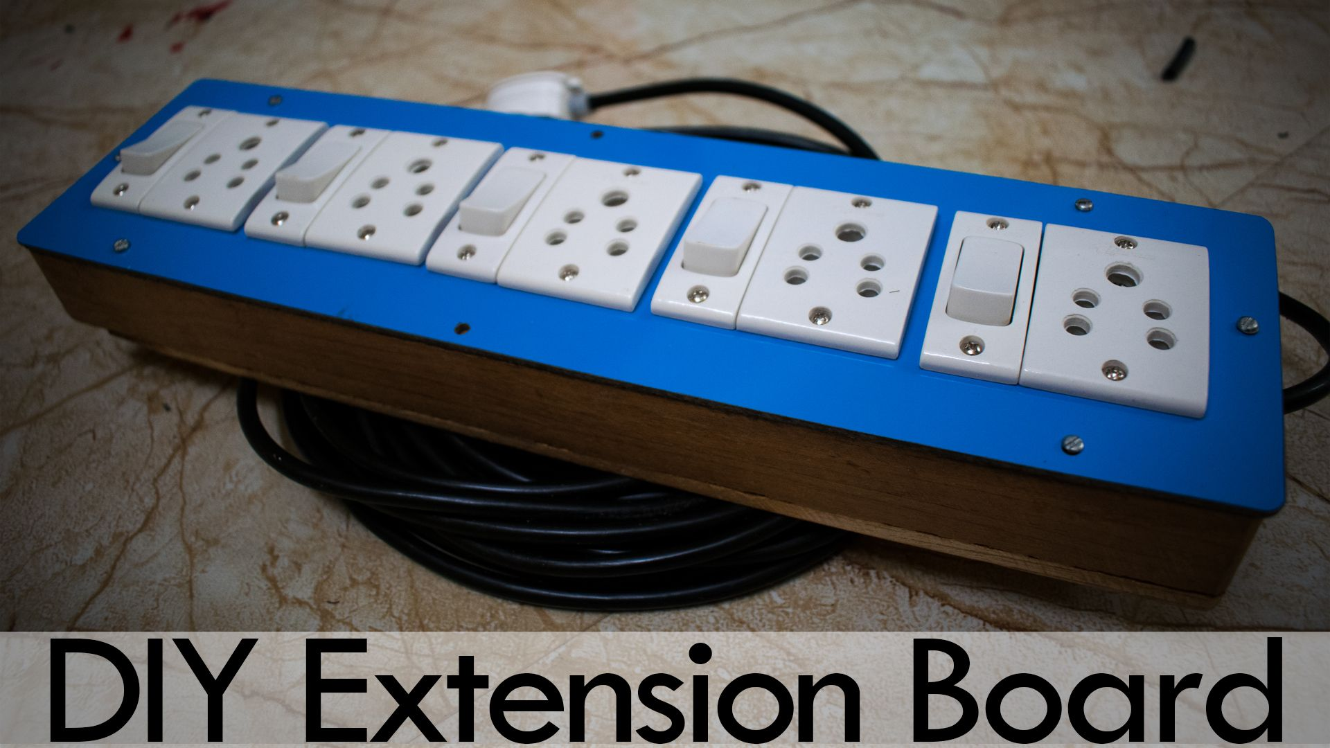 Extension Box Connection Wiring Making Extension Board Diy Extension Board Diy Electrical Diy Youtube