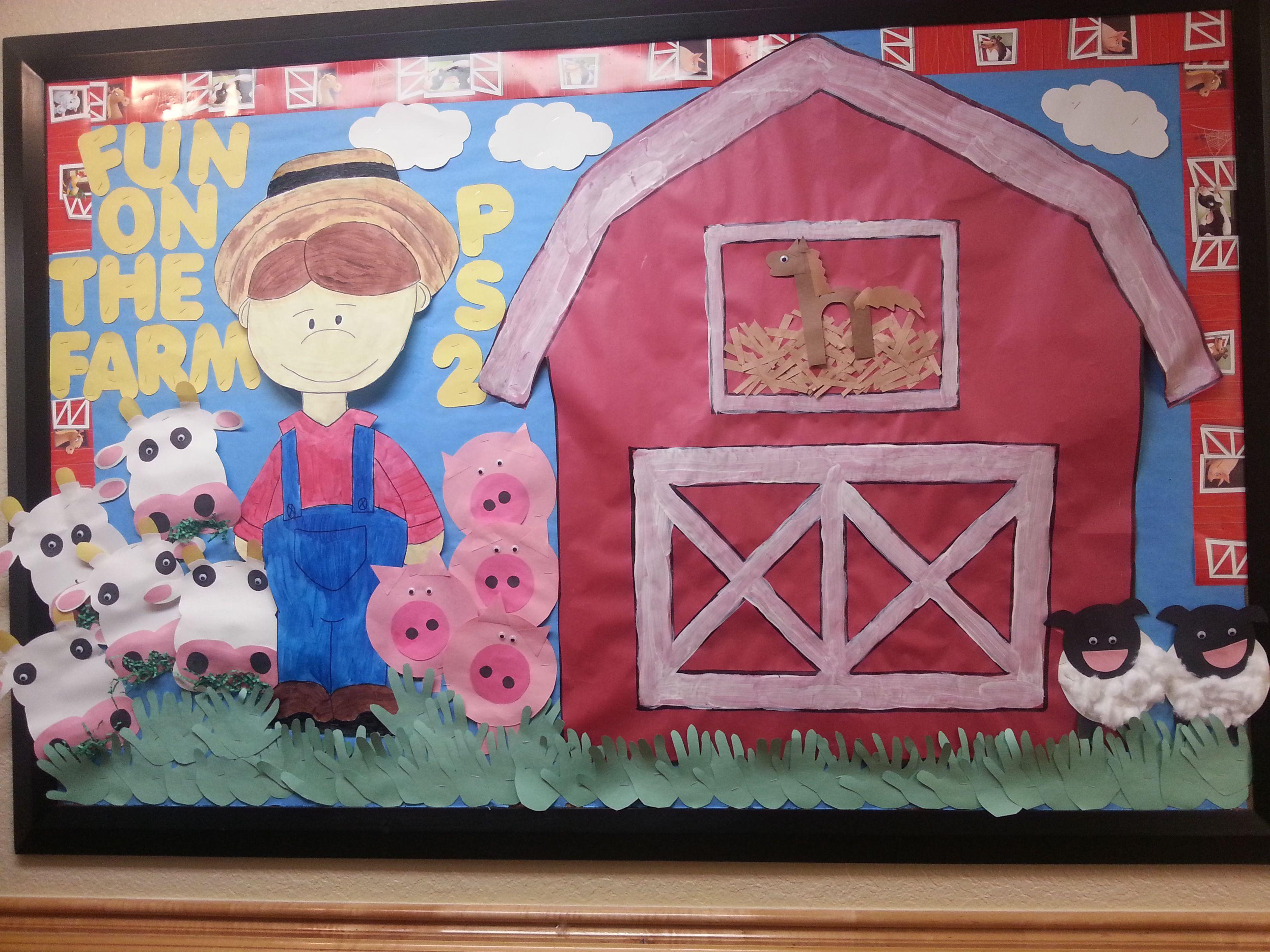 Preschool Farm Animals Bulletin Board Ideas