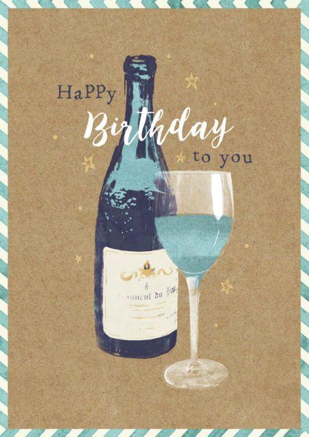 Claire Mcelfatrick Birthday Wine Celebrate Male Happy Birthday