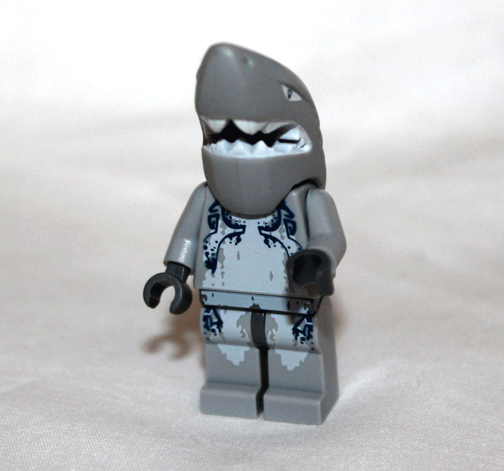 Lego SHARK WARRIOR Atlantis Minifigure 8057 8060 8078